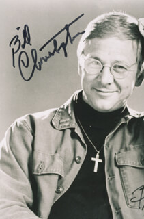 WILLIAM CHRISTOPHER - AUTOGRAPHED SIGNED PHOTOGRAPH