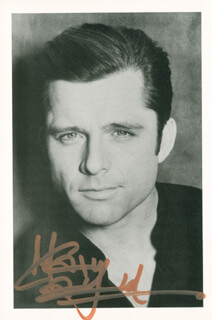 MAXWELL CAULFIELD - AUTOGRAPHED SIGNED PHOTOGRAPH