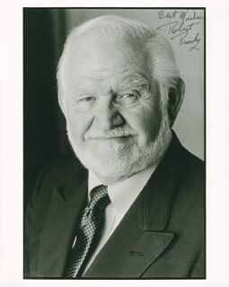 ROBERT PROSKY - AUTOGRAPHED SIGNED PHOTOGRAPH