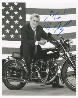 JAY LENO - AUTOGRAPHED INSCRIBED PHOTOGRAPH