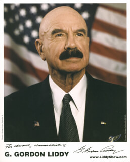G. GORDON LIDDY - AUTOGRAPHED INSCRIBED PHOTOGRAPH