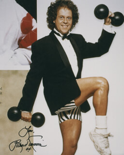 RICHARD SIMMONS - AUTOGRAPHED SIGNED PHOTOGRAPH 2004