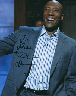 BYRON ALLEN - AUTOGRAPHED INSCRIBED PHOTOGRAPH