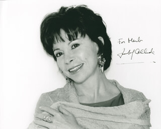 ISABEL ALLENDE - AUTOGRAPHED INSCRIBED PHOTOGRAPH