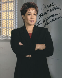 S. EPATHA MERKERSON - AUTOGRAPHED INSCRIBED PHOTOGRAPH