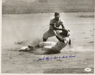 PHIL RIZZUTO - AUTOGRAPH NOTE ON PHOTOGRAPH UNSIGNED