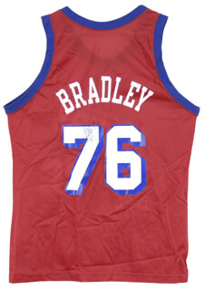 Autographs: SHAWN BRADLEY - JERSEY SIGNED