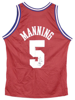 DANNY MANNING - JERSEY SIGNED