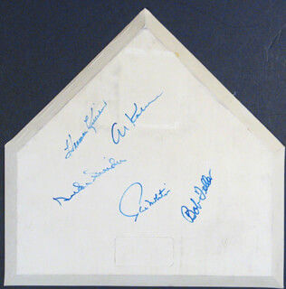 HALL OF FAME BASEBALL - EPHEMERA SIGNED CO-SIGNED BY: HARMON KILLEBREW, PAUL MOLITOR, BOB FELLER, AL MR. TIGER KALINE, DUKE SNIDER