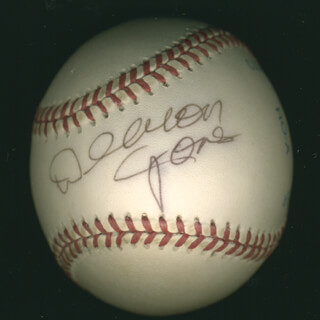 DEACON JONES - AUTOGRAPHED SIGNED BASEBALL