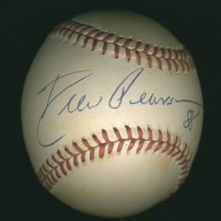 DREW PEARSON - AUTOGRAPHED SIGNED BASEBALL