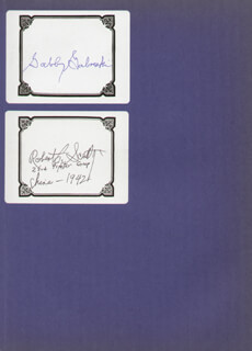 COLONEL FRANCIS S. GABBY GABRESKI - BOOK SIGNED CO-SIGNED BY: BOCK'S CAR CREW (FRED OLIVI), COLONEL HOWARD C. SCRAPPY JOHNSON, BRIGADIER GENERAL ROBERT L. SCOTTY SCOTT