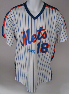 DARRYL STRAWBERRY - JERSEY SIGNED