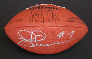 JOE THEISMANN - FOOTBALL SIGNED