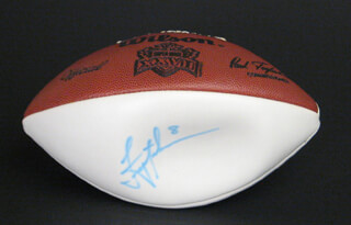 TROY AIKMAN - FOOTBALL SIGNED