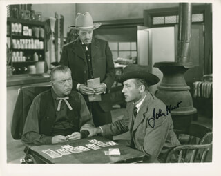 JOHN HART - AUTOGRAPHED SIGNED PHOTOGRAPH