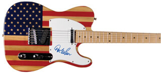 DON McLEAN - GUITAR SIGNED