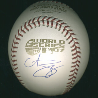 CURT SCHILLING - AUTOGRAPHED SIGNED BASEBALL