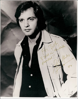 SAL MINEO - AUTOGRAPHED INSCRIBED PHOTOGRAPH 1974