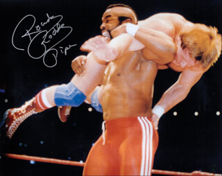 RODDY ROWDY PIPER - AUTOGRAPHED SIGNED PHOTOGRAPH