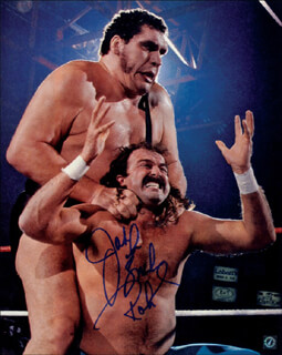 JAKE THE SNAKE ROBERTS - AUTOGRAPHED SIGNED PHOTOGRAPH