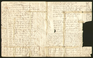 ROBERT KEELEY - AUTOGRAPH LETTER SIGNED 01/09/1829