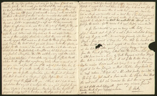 ROBERT KEELEY - AUTOGRAPH LETTER SIGNED 03/02/1829