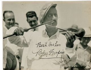BEN TURPIN - AUTOGRAPHED SIGNED PHOTOGRAPH