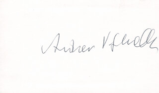 Autographs: ANDREW V. SCHALLY - SIGNATURE(S)