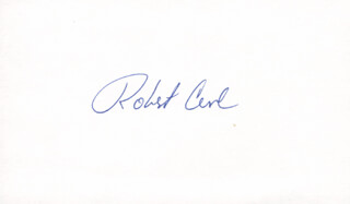 Autographs: ROBERT F. CURL JR. - SIGNATURE(S)
