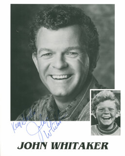 JOHNNY WHITAKER - PRINTED PHOTOGRAPH SIGNED IN INK