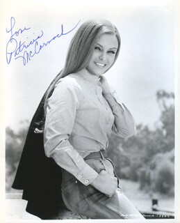 PATRICIA McCORMACK - AUTOGRAPHED SIGNED PHOTOGRAPH