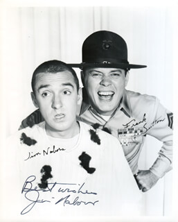 JIM NABORS - AUTOGRAPHED SIGNED PHOTOGRAPH