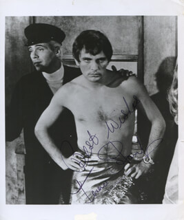 TERENCE STAMP - AUTOGRAPHED SIGNED PHOTOGRAPH