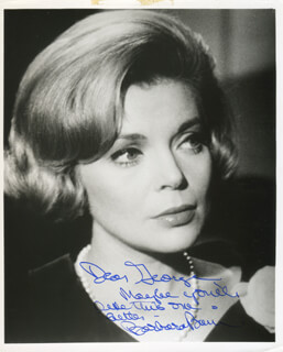 BARBARA BAIN - AUTOGRAPHED INSCRIBED PHOTOGRAPH