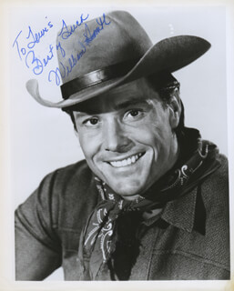 WILLIAM SMITH (ACTOR) - AUTOGRAPHED INSCRIBED PHOTOGRAPH