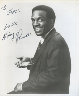 NIPSEY RUSSELL - AUTOGRAPHED INSCRIBED PHOTOGRAPH