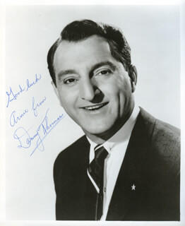 DANNY THOMAS - AUTOGRAPHED INSCRIBED PHOTOGRAPH