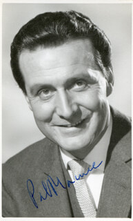 PATRICK MACNEE - AUTOGRAPHED SIGNED PHOTOGRAPH