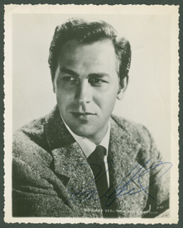 HOWARD KEEL - AUTOGRAPHED SIGNED PHOTOGRAPH