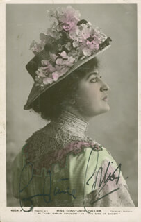 CONSTANCE COLLIER - AUTOGRAPHED SIGNED PHOTOGRAPH