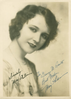 MARY PHILBIN - AUTOGRAPHED INSCRIBED PHOTOGRAPH