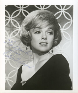 EDIE ADAMS - AUTOGRAPHED INSCRIBED PHOTOGRAPH