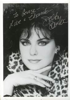 DELTA BURKE - AUTOGRAPHED INSCRIBED PHOTOGRAPH