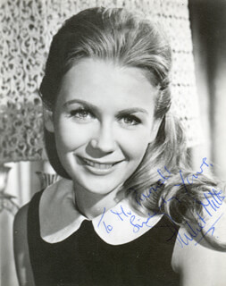 JULIET MILLS - AUTOGRAPHED INSCRIBED PHOTOGRAPH