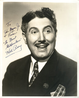 HAL GREAT GILDERSLEEVE PEARY - AUTOGRAPHED INSCRIBED PHOTOGRAPH