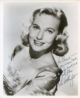 LOLA ALBRIGHT - AUTOGRAPHED INSCRIBED PHOTOGRAPH