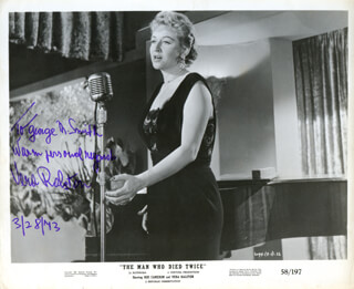 VERA H. RALSTON - AUTOGRAPHED INSCRIBED PHOTOGRAPH 03/28/1973