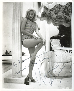 VIRNA LISI - AUTOGRAPHED INSCRIBED PHOTOGRAPH