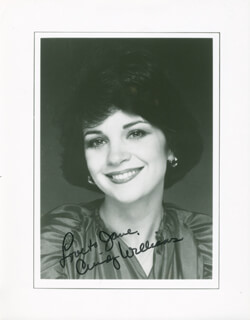 CINDY WILLIAMS - AUTOGRAPHED INSCRIBED PHOTOGRAPH